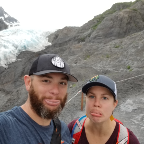 We were trying to look sad about the glacier melting. Turned into more of a fat lip shot.
